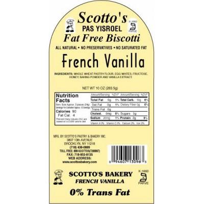 Low Fat Biscotti - 1 Case